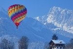 Balloon over Chateau d'Oex