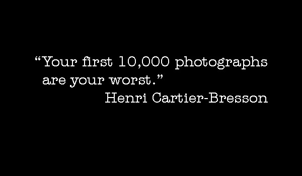 Photo-quote:  Cartier-Bresson