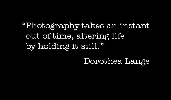Photo-quote:  Lange