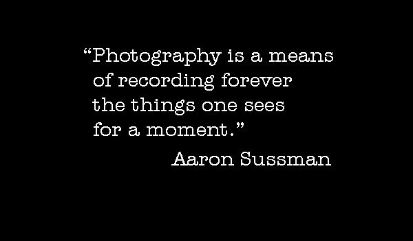 Photo-quote:  Sussman