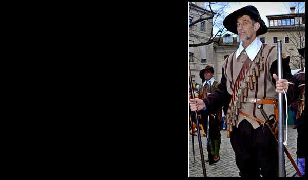 Musketeer at the Geneva Escalade